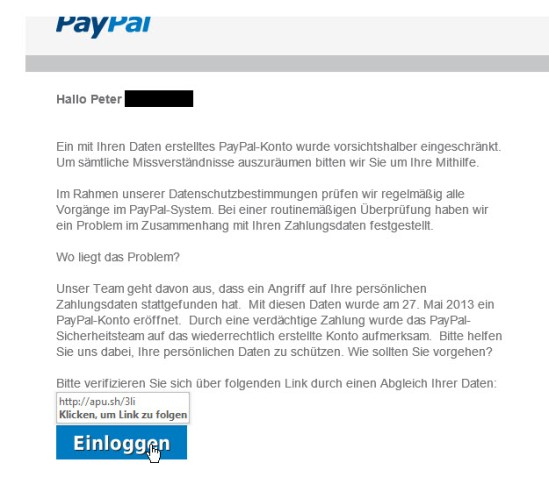 PayPal Fake 2013-2