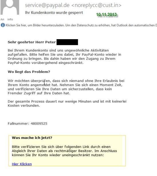 PayPal Fake 2013-4