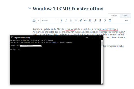 CMD-Fenster